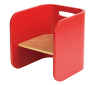 ColoColo Chair:Red
